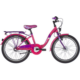 s'cool chiX 20 3-S steel Kinder pink